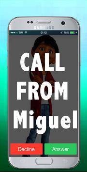 Call Miguel From Сocо prank poster