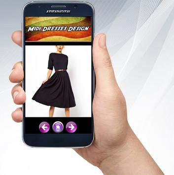 Midi Dresses Design screenshot 3