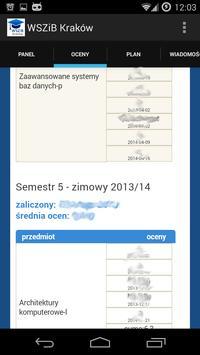 WSZiB Kraków screenshot 1
