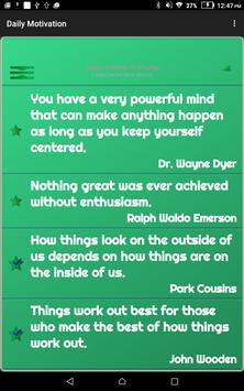 Daily Motivation screenshot 10
