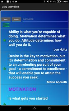 Daily Motivation apk screenshot