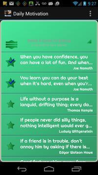 Daily Motivation screenshot 2