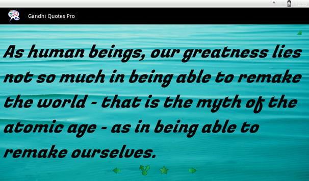 Gandhi Quotes Ekran Görüntüsü 12