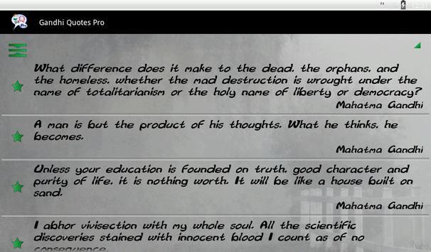 Gandhi Quotes Ekran Görüntüsü 13