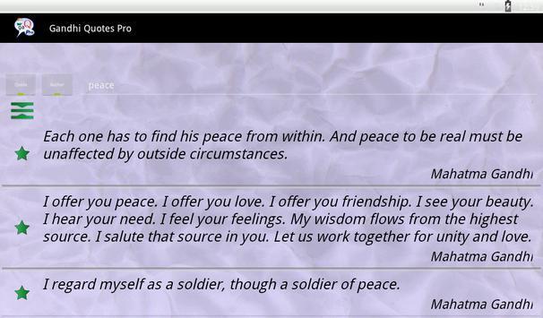 Gandhi Quotes Ekran Görüntüsü 14