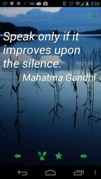 Gandhi Quotes Ekran Görüntüsü 1