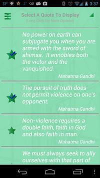 Gandhi Quotes Ekran Görüntüsü 2