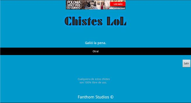 Chistes League Of Legends apk screenshot