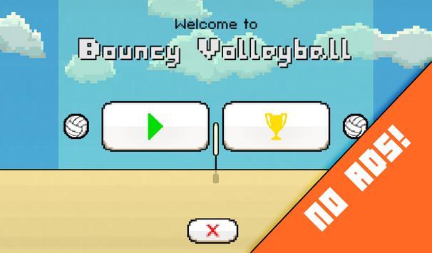 Bouncy Volleyball apk screenshot