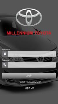 Millennium Toyota poster
