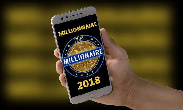 Millionaire 2018 - Lucky Quiz Free Game Online screenshot 1