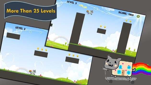 Nyan Cat Go screenshot 3