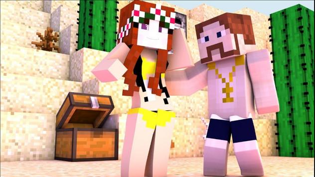 Hot Skins For Miine:Crafte poster