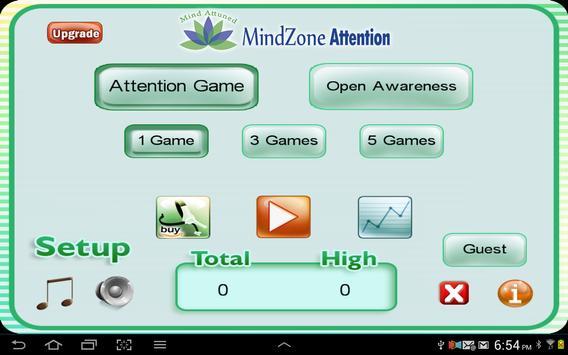 MindZone Attention screenshot 4