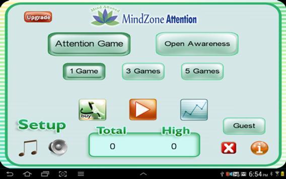 MindZone Attention poster