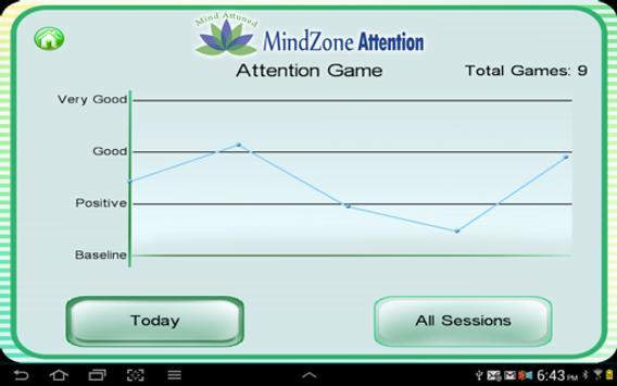 MindZone Attention screenshot 2
