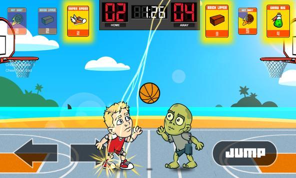 Big Head Basketball apk screenshot