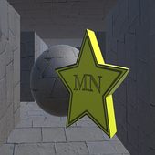 Maze 3d tunnel icon