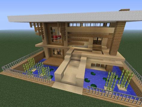 Casas modernas minecraft descarga apk gratis bibliotecas Disenos de casas minecraft