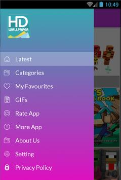 Minecraft Kids Wallpaper 2018 screenshot 1