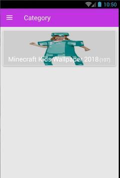 Minecraft Kids Wallpaper 2018 screenshot 2