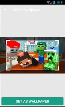 Minecraft Kids Wallpaper 2018 screenshot 3