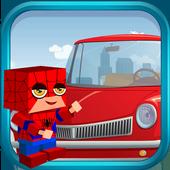Drive Hill Climb Auto Start Lego Spider Car Man icon