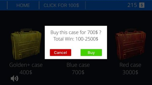 Money Case Simulator apk screenshot