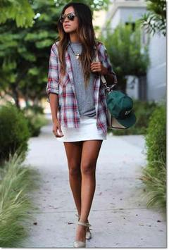 Mini Skirt Outfit Ideas screenshot 15