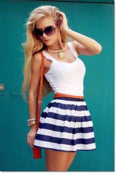 Mini Skirt Outfit Ideas screenshot 1