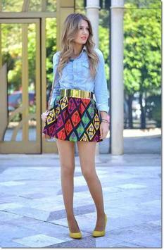 Mini Skirt Outfit Ideas screenshot 2
