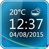 Minimal Clock Widget icon