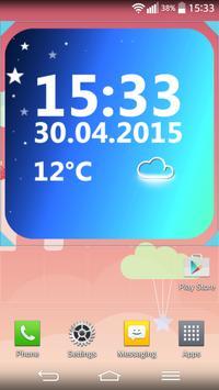 Minimal Clock Widget poster