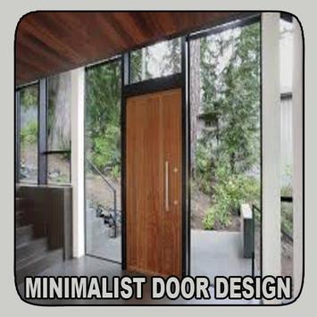 Minimalist Door Design poster