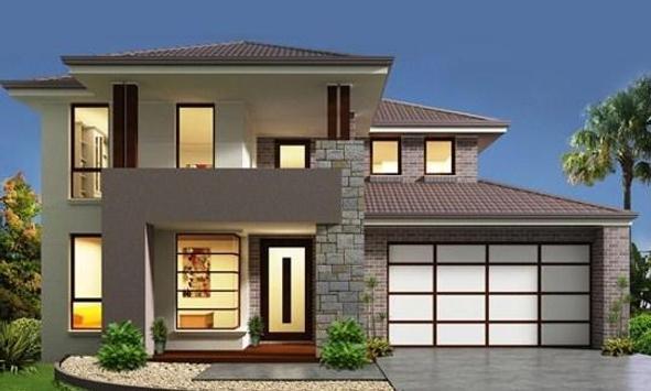 minimalist two-storey house apk screenshot