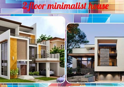 Minimalist House 2 Floor poster
