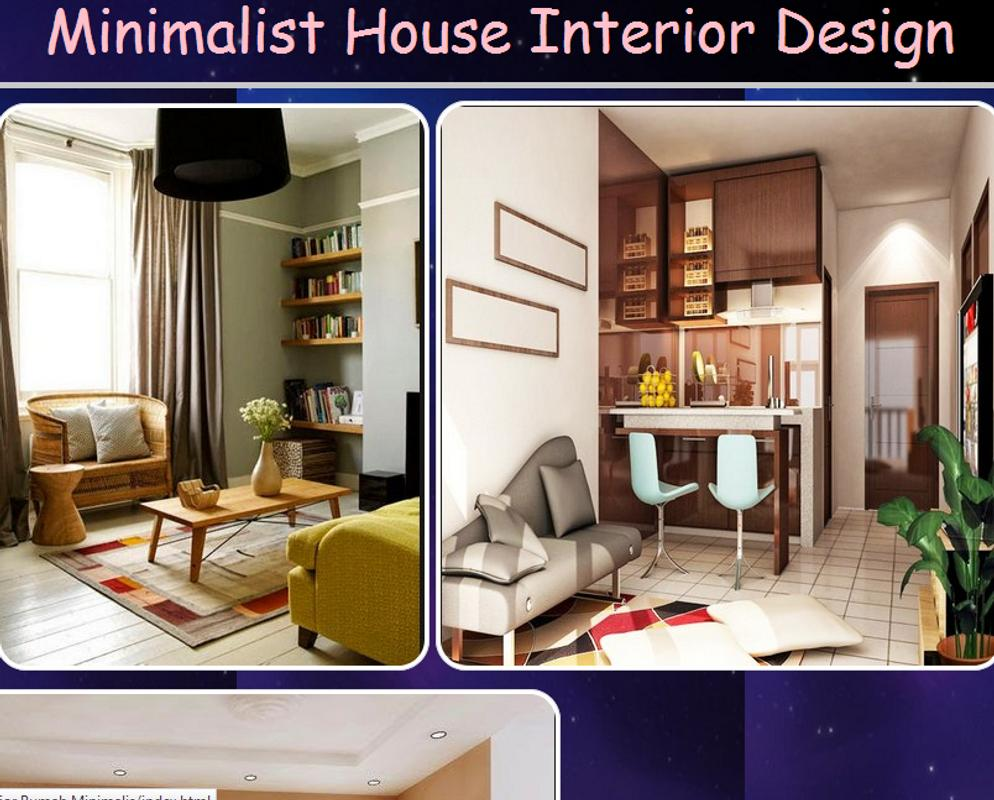 Dise o interior de la casa minimalista for android apk for Diseno interior minimalista