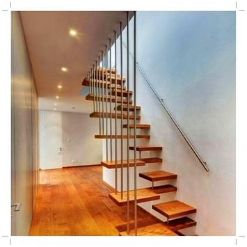 Minimalist Staircase Design poster