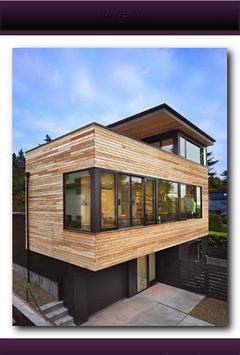 Minimalist Wooden House screenshot 4