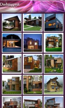 Minimalist Wooden House screenshot 1