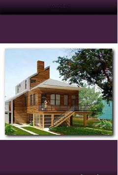 Minimalist Wooden House screenshot 2