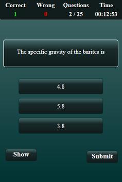 Mining Engineering Quiz screenshot 15