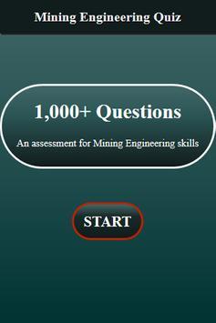 Mining Engineering Quiz screenshot 13