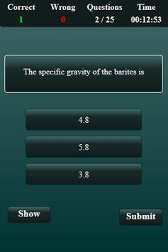 Mining Engineering Quiz screenshot 3