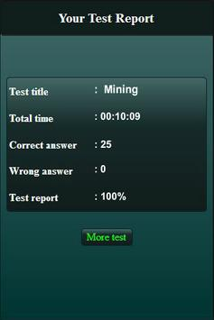 Mining Engineering Quiz screenshot 5