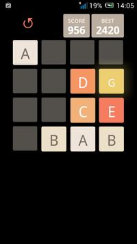 2048 Alphabet screenshot 4