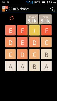 2048 Alphabet screenshot 2