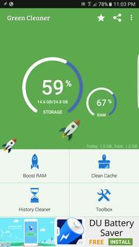 Green Cleaner apk screenshot