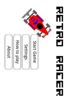 RetroRacer poster