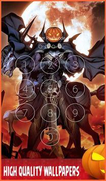 Lock Screen For Halloween : Pattern & Passcode Pro poster